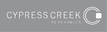 Cypress Creek Renewables